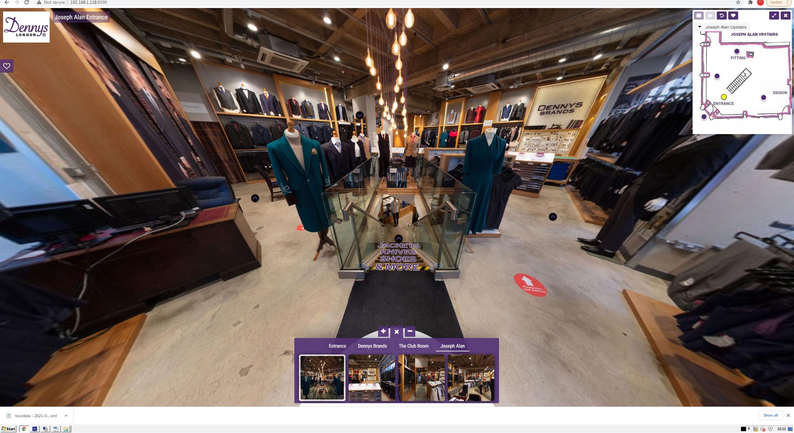 Dennys Brands Virtual Entrance
