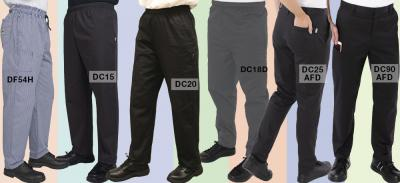 Finding your perfect pair of chef trousers
