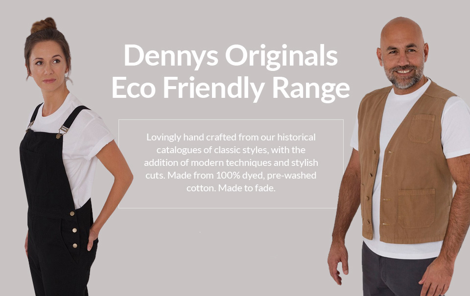 Dennys Originals eco friendly range