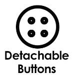 Detachable buttons