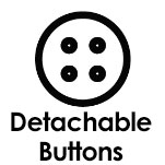 Detachable buttons