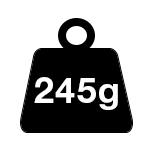 245gsm